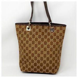 Authentic Gucci GG Monogram Tote Bag